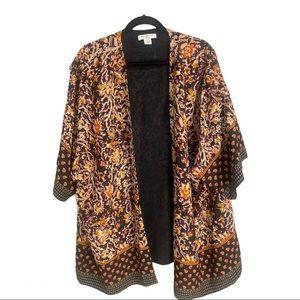 Liz Claiborne Woman Open Kimono Jacket Size 2X
